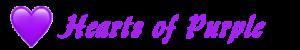 hearts of purple logo