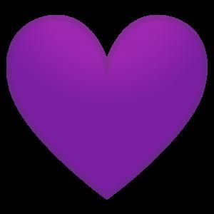 hearts of purple icon